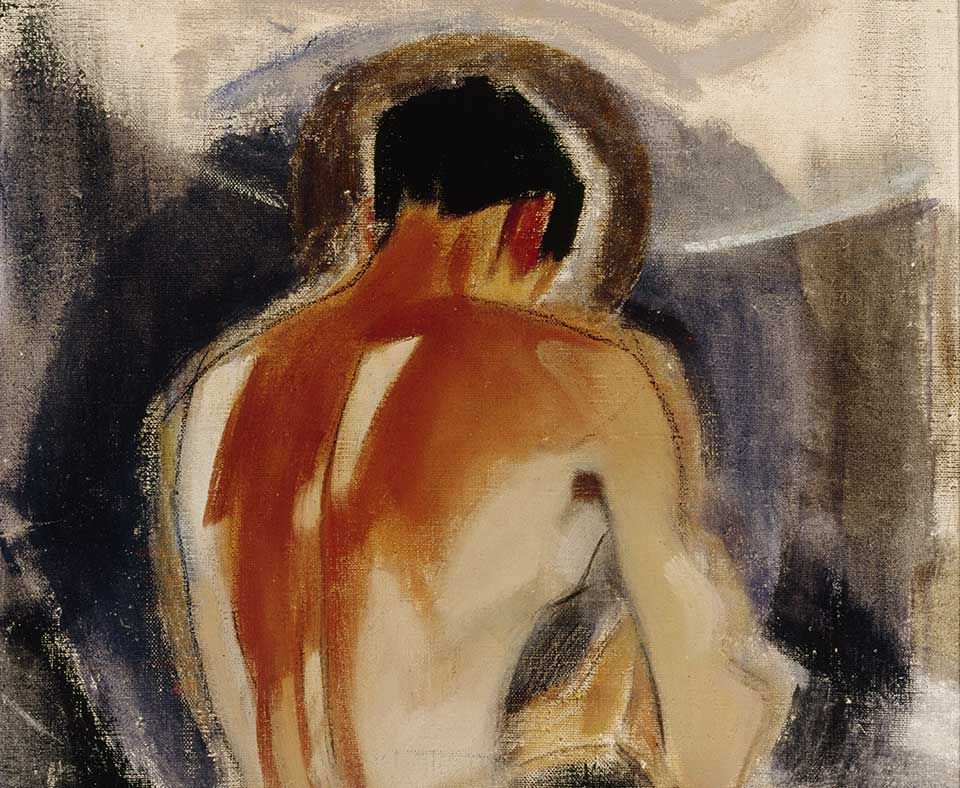 Helene Schjerfbeck, Robber at the Gate of Paradise, 1924-25
